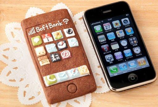 Cookie/biscoito de iPhone