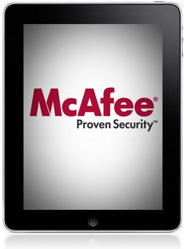McAfee - Proven Security no iPad