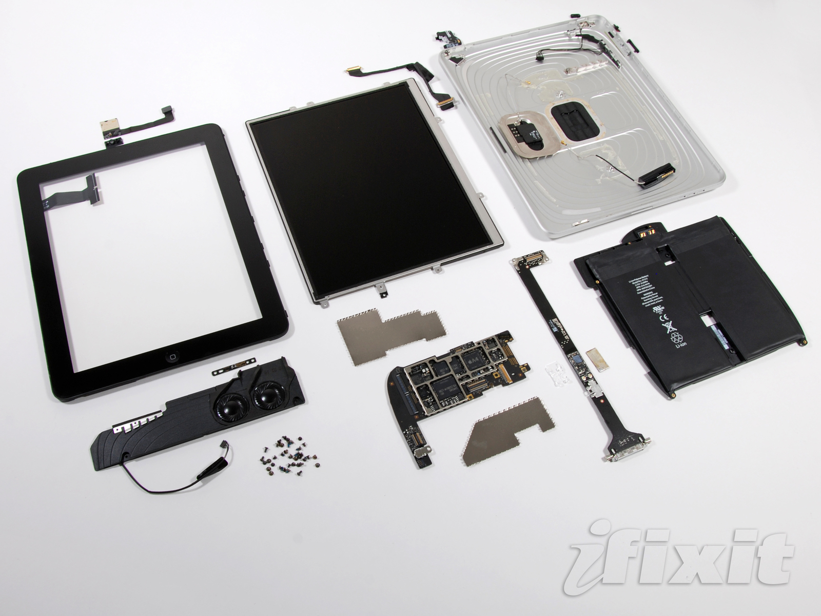 iPad 3G desmontado pela iFixit