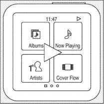 Diagrama de iPod nano 6G em patente