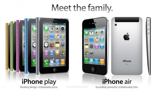 Novos modelos de iPhones para 2011
