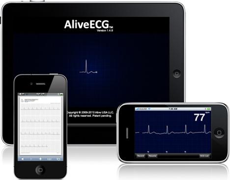Eletrocardiograma para iOS - Alivecor