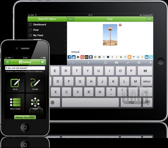 Hellotxt - iPad e iPhone