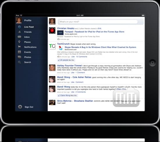Facepad - iPad