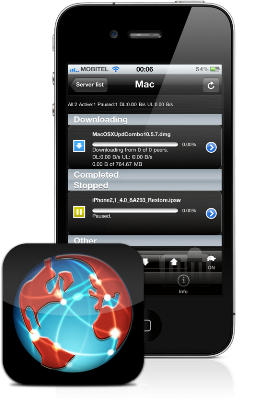 iControlBits - iPhone