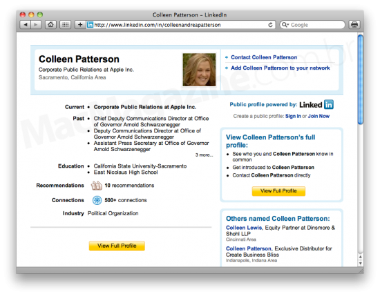 Colleen Patterson no LinkedIn