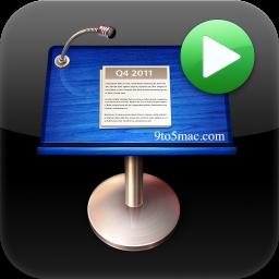 Ícone do Keynote Remote 2011