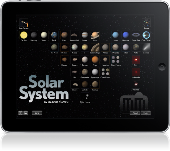 Solar System - iPad