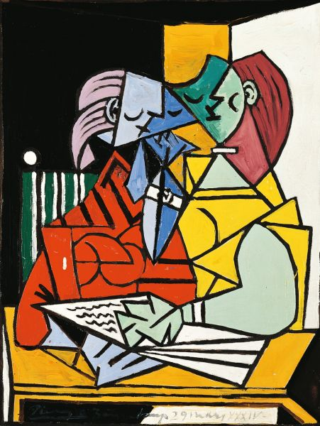 Two Characters - Pablo Picasso