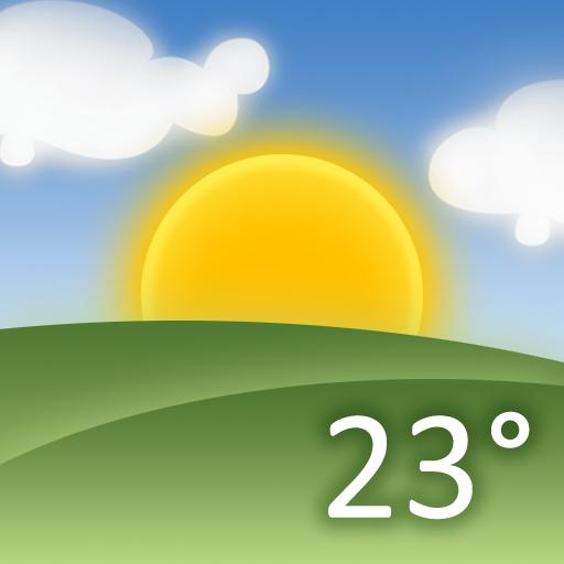 Ícone de squatter com nome de Weather HD