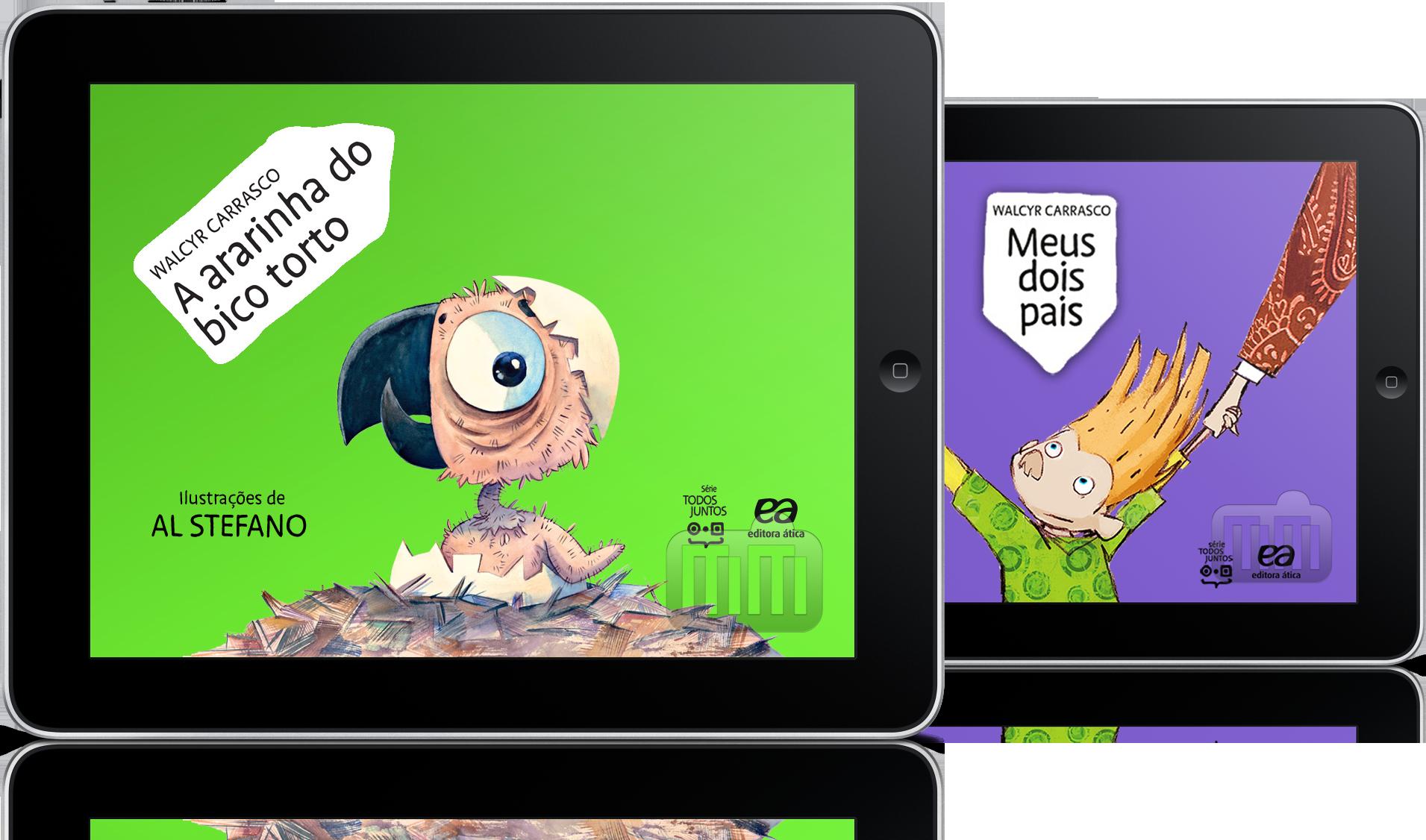 Livros para iPad da Abril Educação