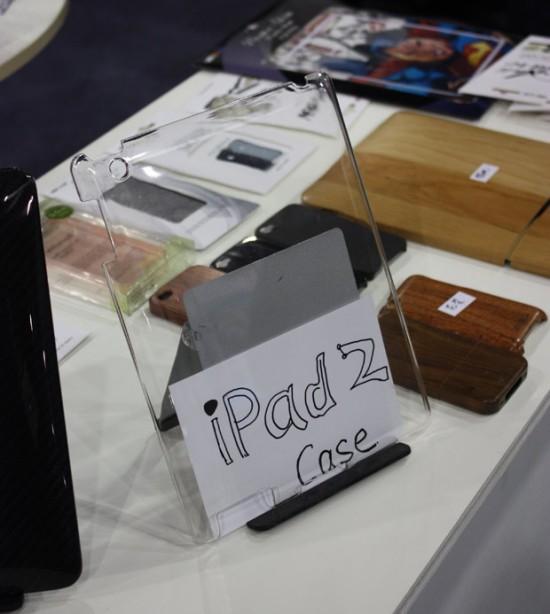 Case transparente para iPad 2
