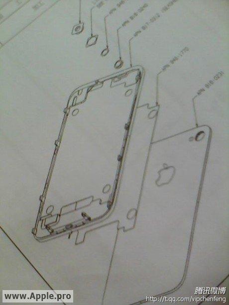 Desenho do iPhone 5