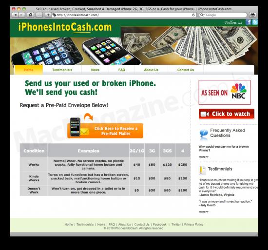 iPhonesIntoCash.com
