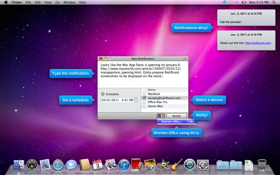 Notificant - Mac OS X
