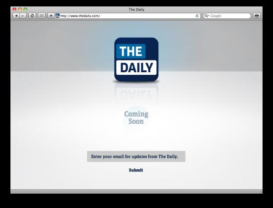 The Daily - iPad
