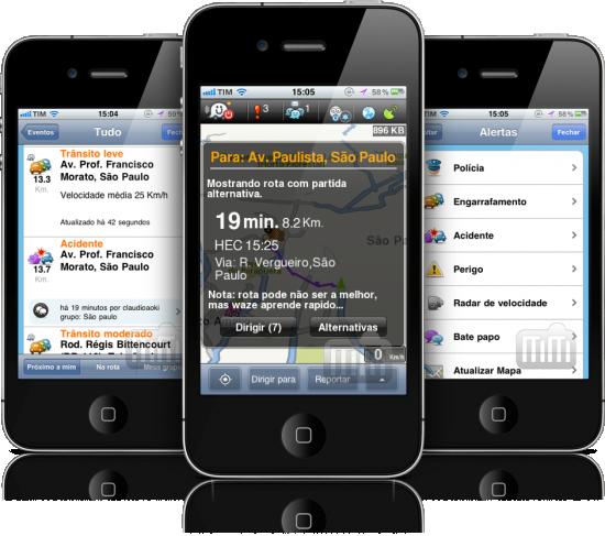 Waze - iPhones