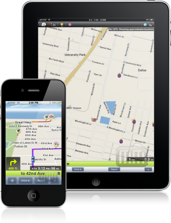 Waze - iPhone e iPad