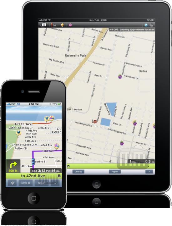 Waze - iPhone e iPad