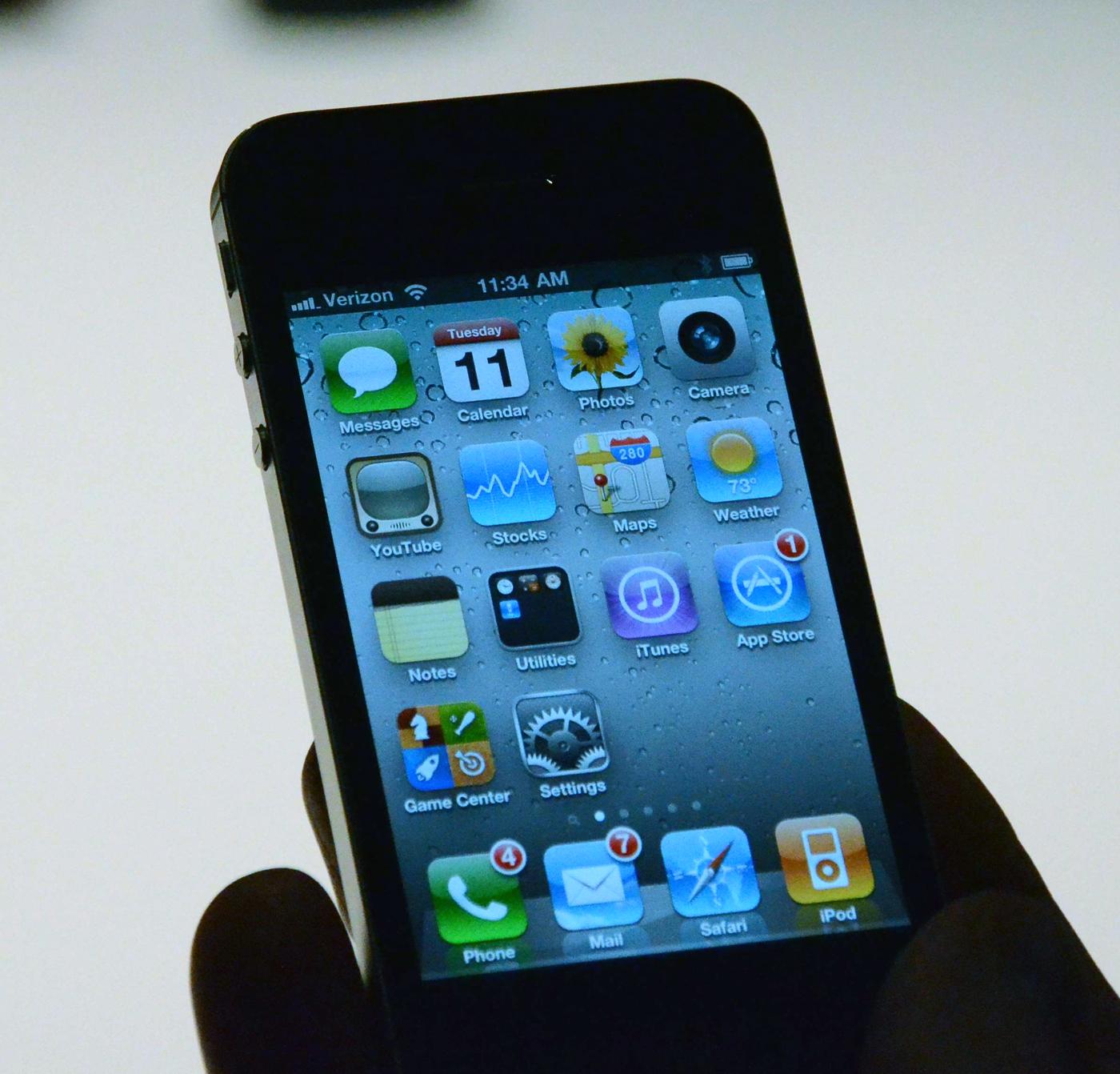 iPhone 4 rodando na Verizon
