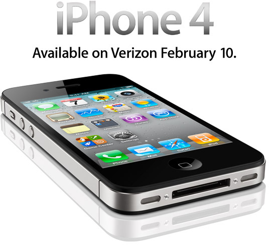 iPhone 4 na Verizon Wireless