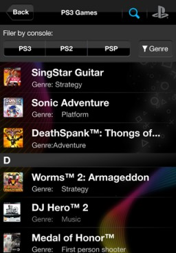 PlayStation Official App - iPhone