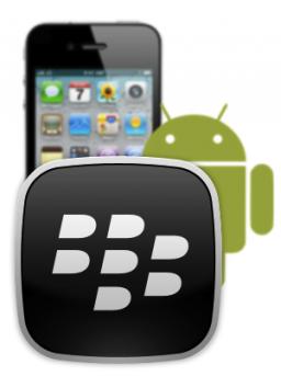 BlackBerry ameaçado pelo iPhone e pelo Android