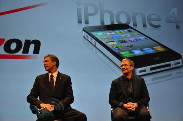 Tim Cook na Verizon