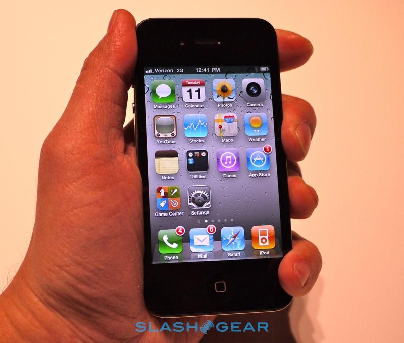 Death Grip no iPhone 4 CDMA da Verizon