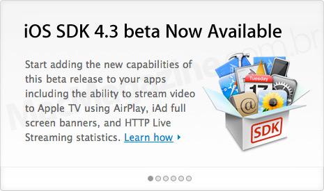 iOS SDK 4.3 beta