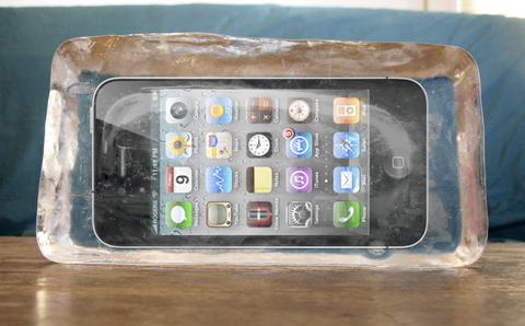 iPhone 4 congelado