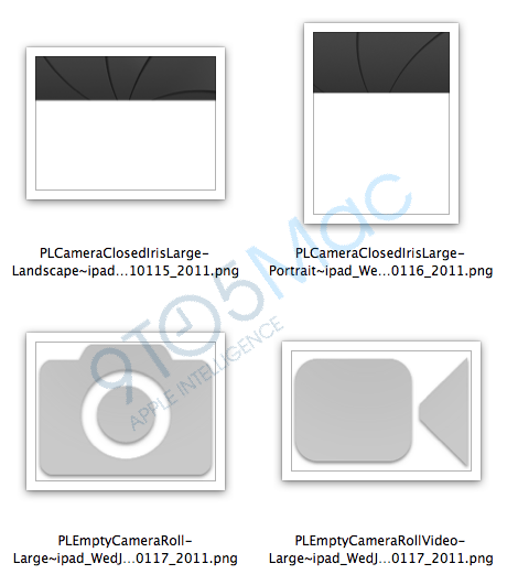 Imagens de câmeras no iPad SDK