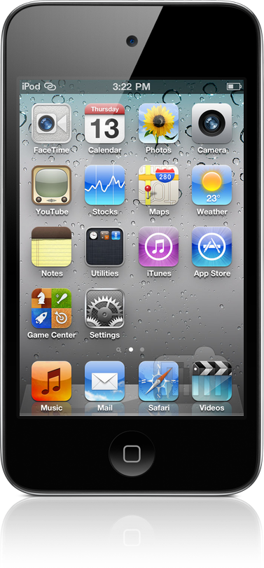 iPod touch com iOS 4.3