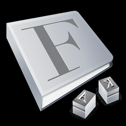 Ícone do Font Book