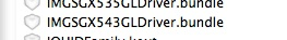 Referência a GPU SGX543 no iOS 4.3