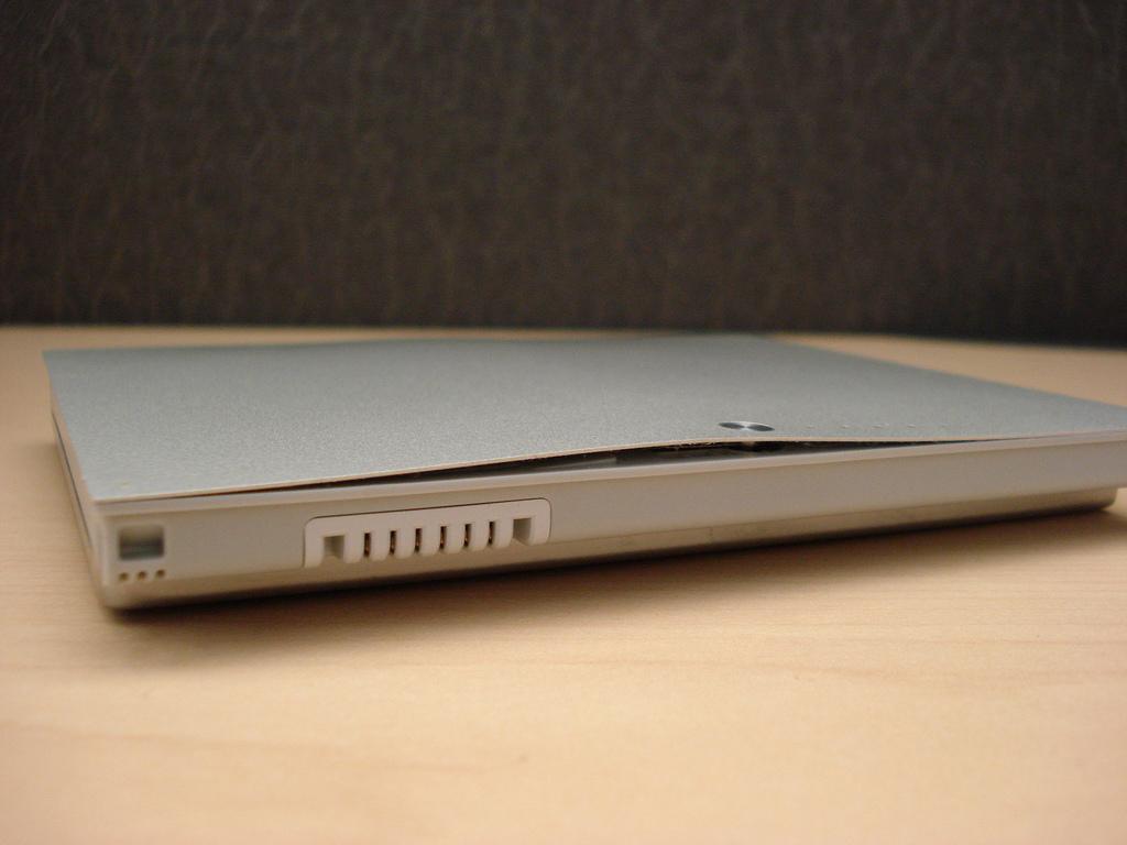 Bateria inchada em MacBook Pro