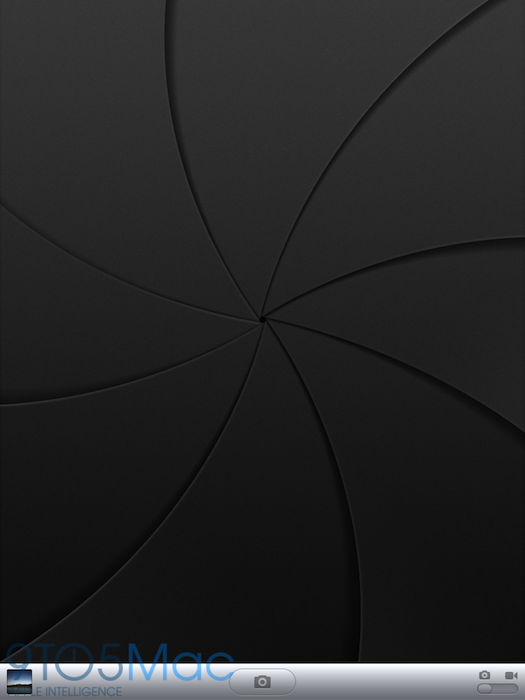 App Câmera do iPad 2