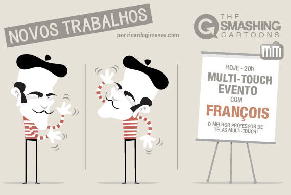 The Smashing Cartoons - Novos Trabalhos
