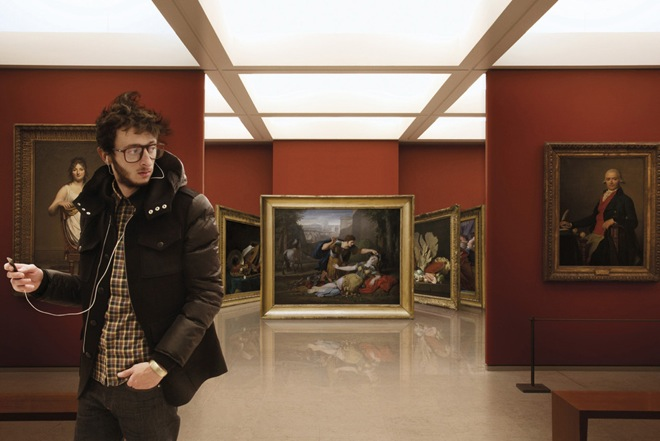 iGaleria de arte - Leo Caillard