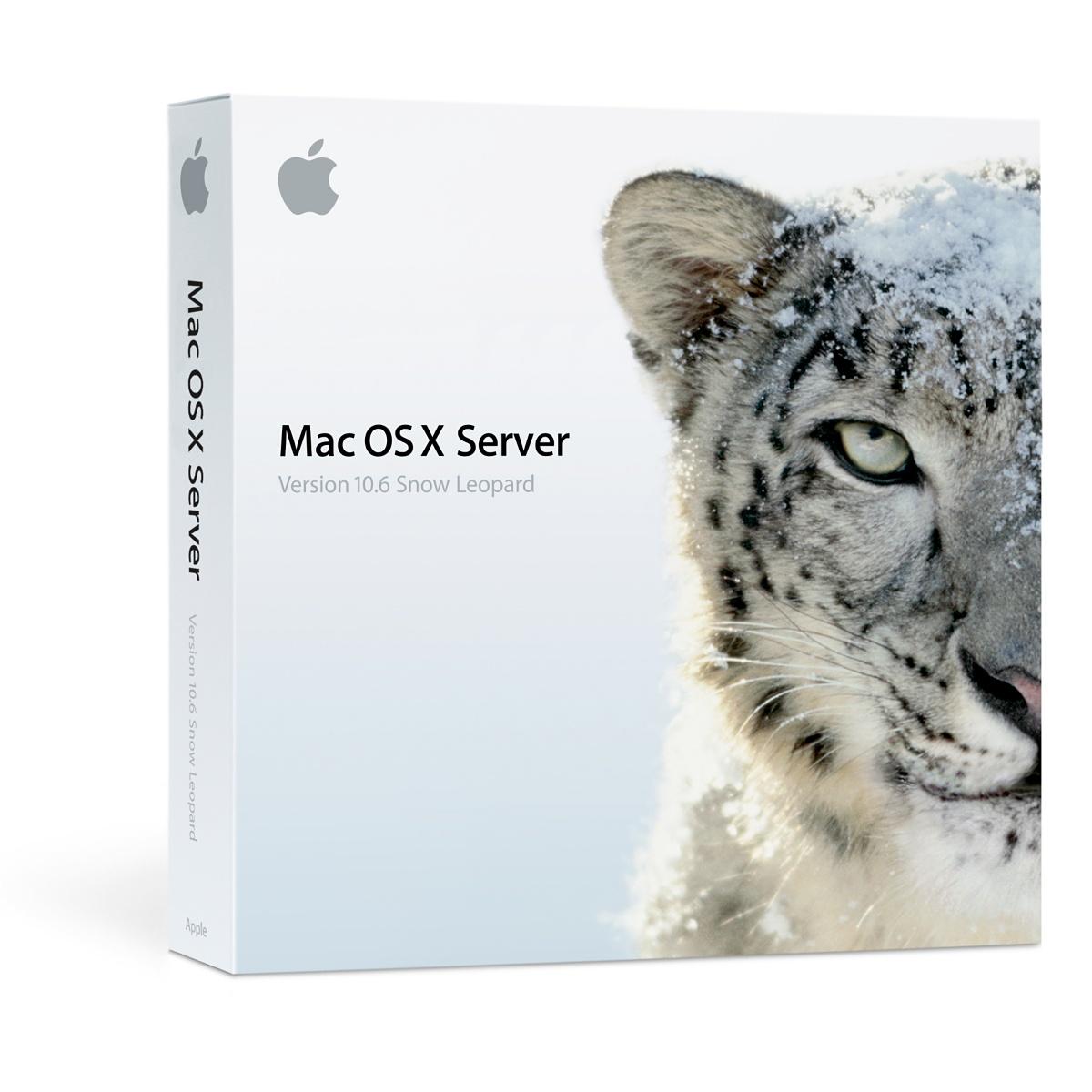 Mac OS X Server Snow Leopard