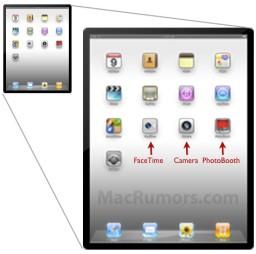FaceTime Camera e Photo Booth no iPad 2