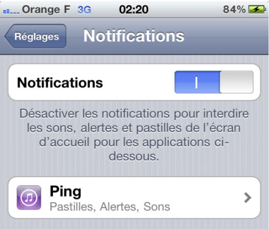 Ping com notificações instantâneas