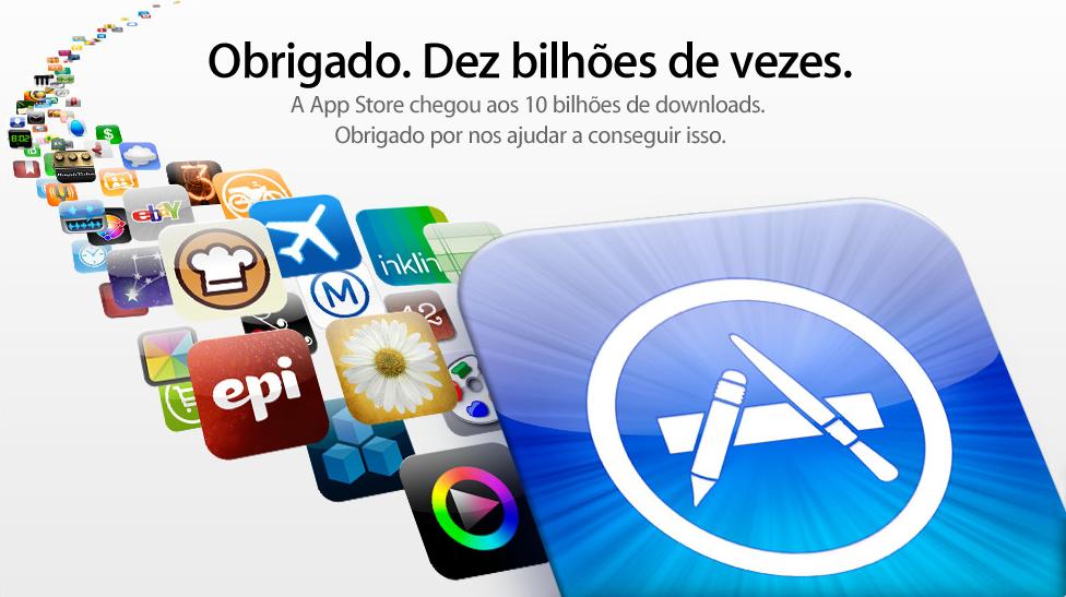 10 bilhões de apps