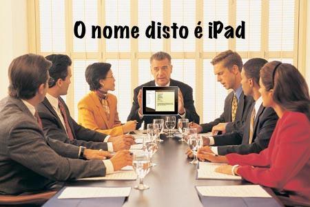 iPad em uma reunião