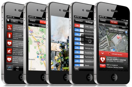 Fire Department em iPhones 4