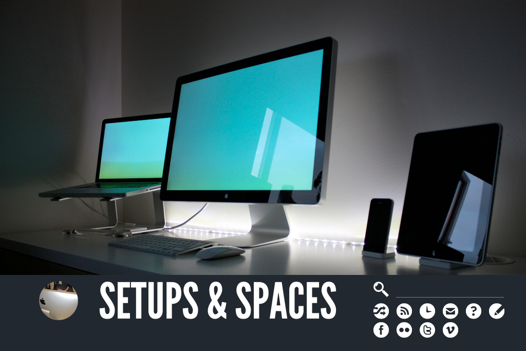 Setups and Spaces