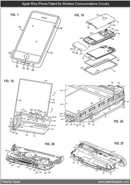 Patente da antena do iPhone original