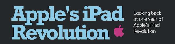 Um ano de revelação do iPad