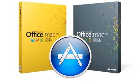 Microsoft Office na Mac App Store