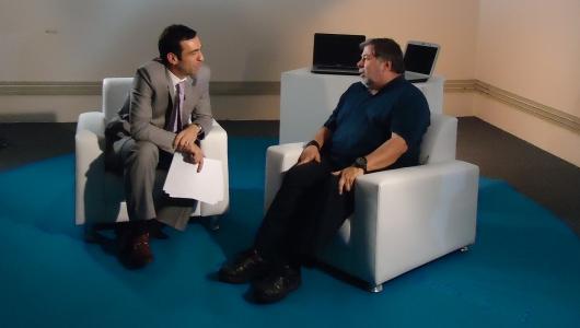 Cesar Tralli entrevista Steve Wozniak - Globo News